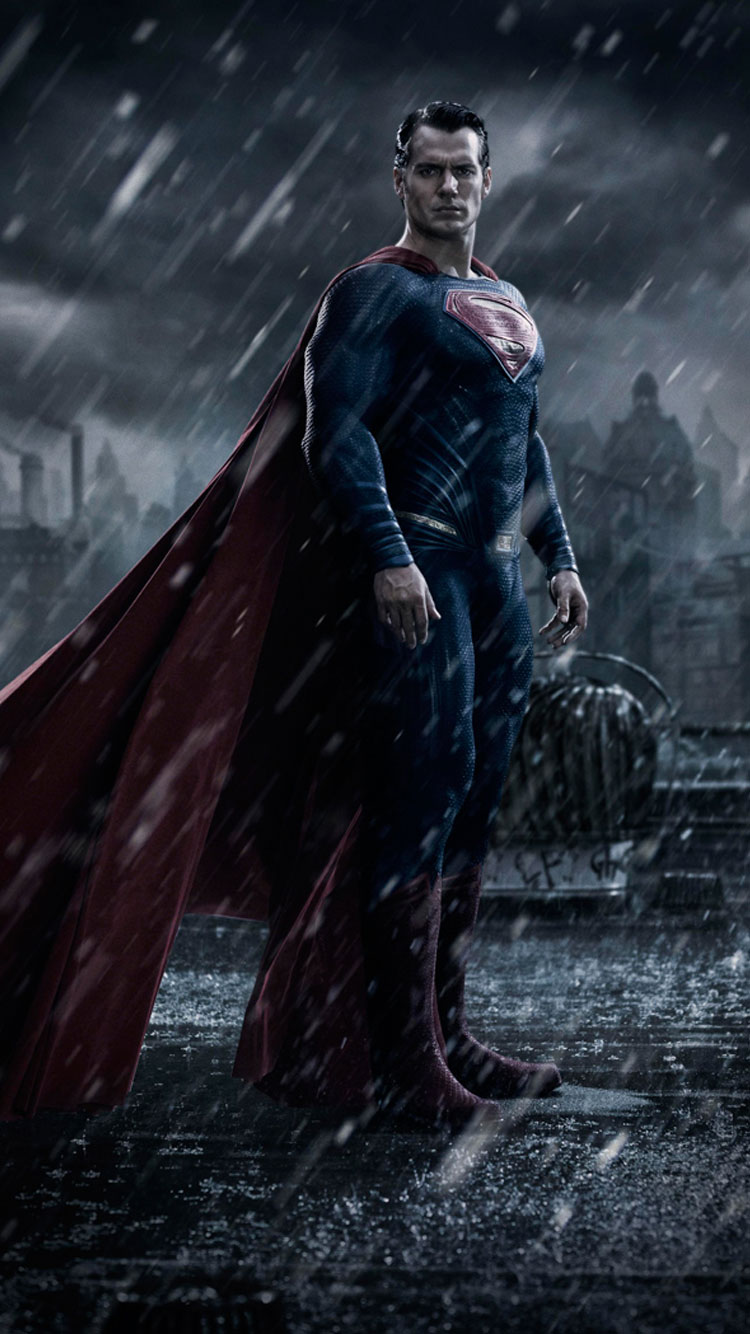Superman-2016-iPhone-6-Wallpaper