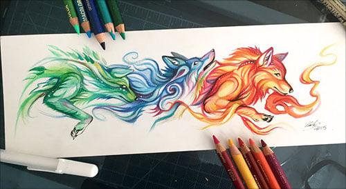 nspiring-Color-Pencil-Drawings-of-Animals-2016-(13)