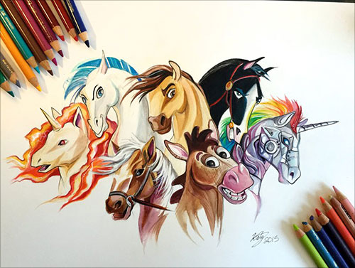 nspiring-Color-Pencil-Drawings-of-Animals-2016-(14)