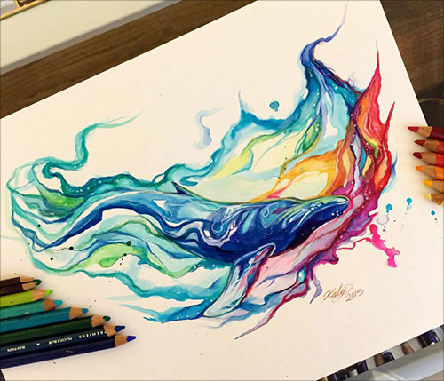 nspiring-Color-Pencil-Drawings-of-Animals-2016-(17)