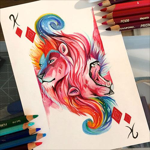 nspiring-Color-Pencil-Drawings-of-Animals-2016-(18)