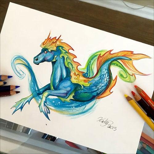 nspiring-Color-Pencil-Drawings-of-Animals-2016-(21)