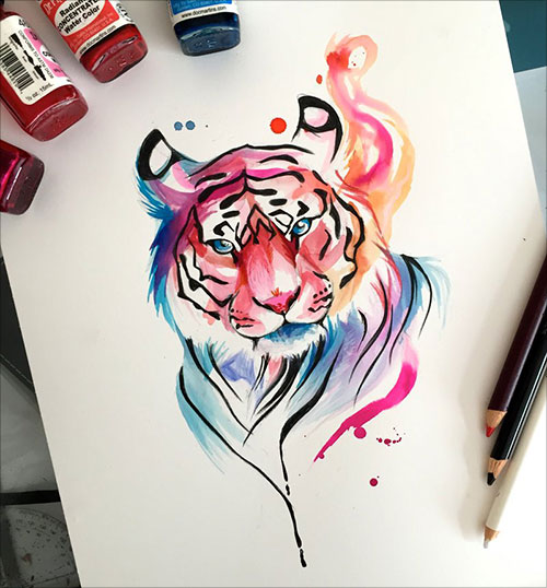 nspiring-Color-Pencil-Drawings-of-Animals-2016-(22)