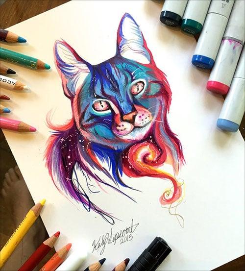 nspiring-Color-Pencil-Drawings-of-Animals-2016-(27)