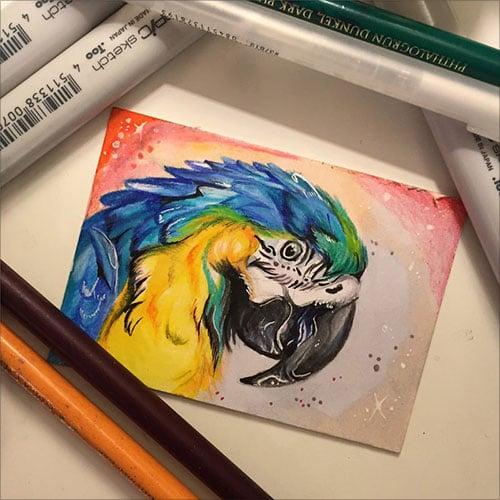 nspiring-Color-Pencil-Drawings-of-Animals-2016-(28)