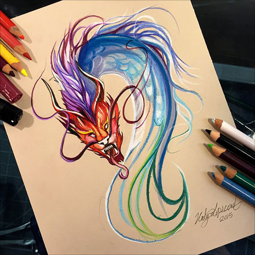 nspiring-Color-Pencil-Drawings-of-Animals-2016-(30)