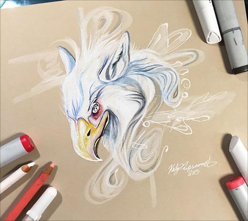 nspiring-Color-Pencil-Drawings-of-Animals-2016-(31)