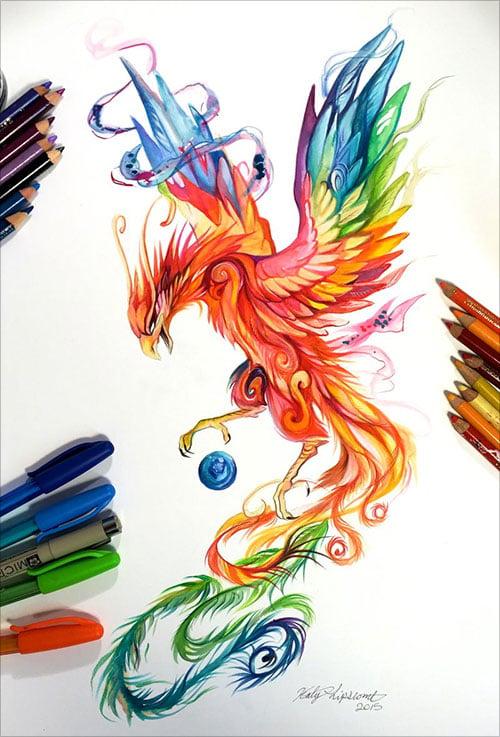nspiring-Color-Pencil-Drawings-of-Animals-2016-(35)