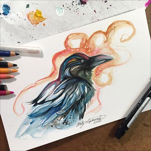 nspiring-Color-Pencil-Drawings-of-Animals-2016-(37)