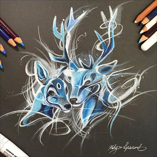 nspiring-Color-Pencil-Drawings-of-Animals-2016-(38)