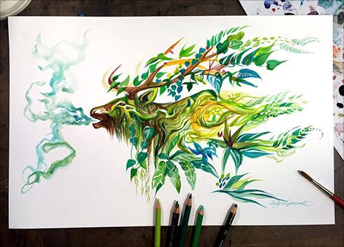 nspiring-Color-Pencil-Drawings-of-Animals-2016-(40)