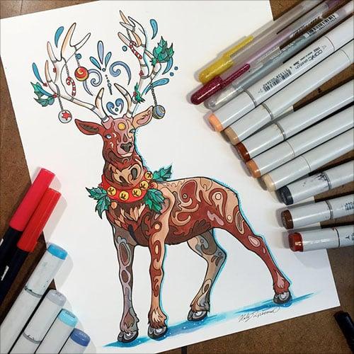 nspiring-Color-Pencil-Drawings-of-Animals-2016-(41)