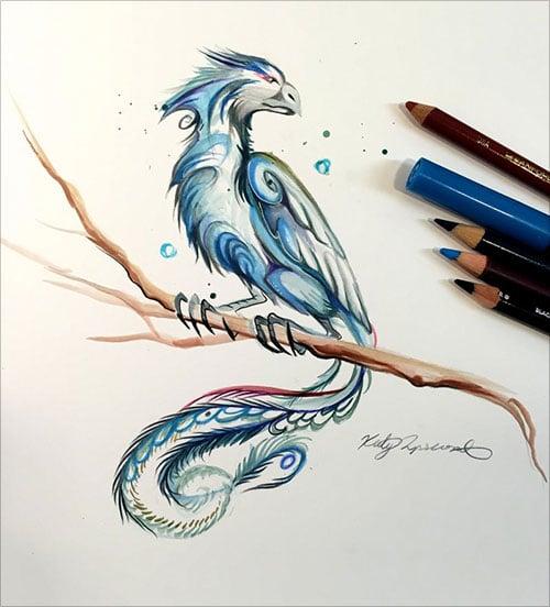 nspiring-Color-Pencil-Drawings-of-Animals-2016-(43)