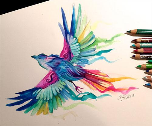 nspiring-Color-Pencil-Drawings-of-Animals-2016-(45)
