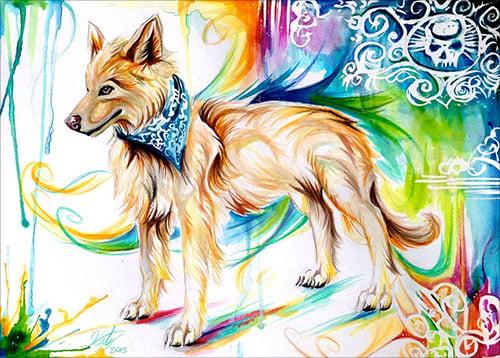 nspiring-Color-Pencil-Drawings-of-Animals-2016-(49)