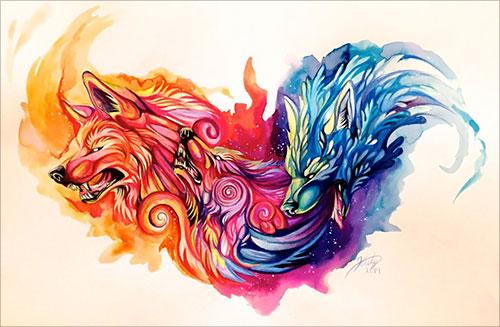 nspiring-Color-Pencil-Drawings-of-Animals-2016-(50)