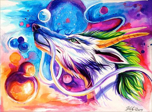 nspiring-Color-Pencil-Drawings-of-Animals-2016-(51)