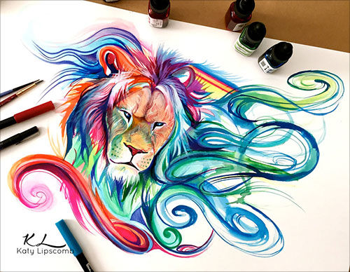 nspiring-Color-Pencil-Drawings-of-Animals-2016-(7)