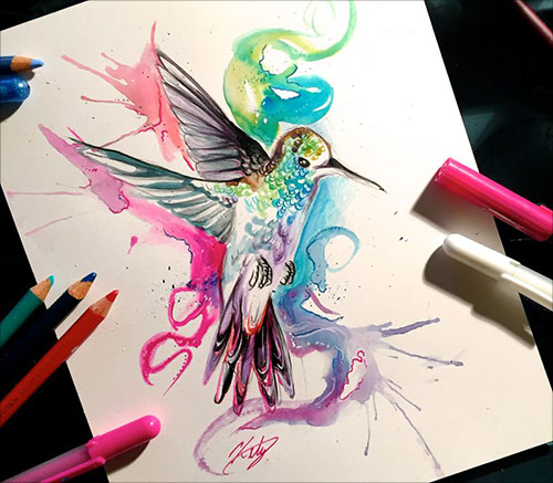 nspiring-Color-Pencil-Drawings-of-Animals-2016-(8)