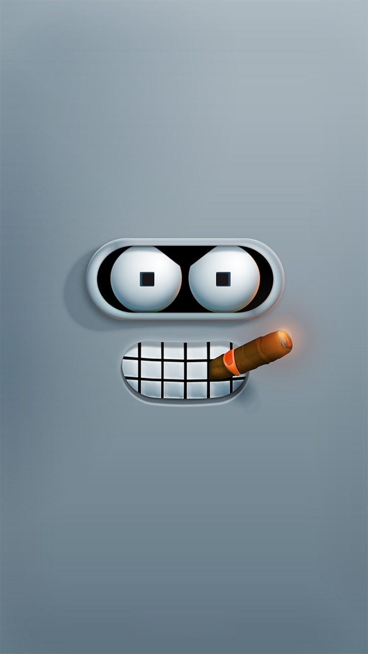 Bender_iPhone-6-Wallpaper