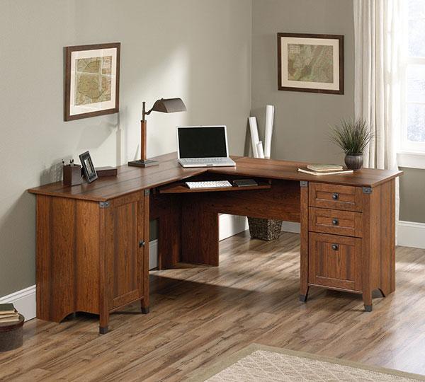 Forge-Corner-Computer-Desk-Cherry-Wood-Finish