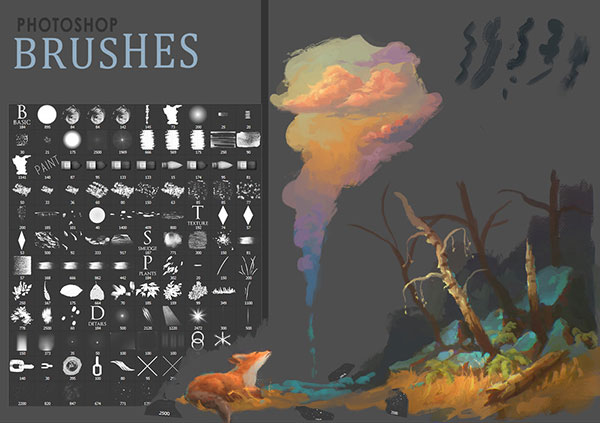 Free clouds brushes photoshop cs6