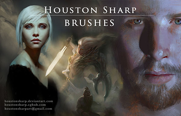 Houston-Free-Brushes-for-Portrait-Painting