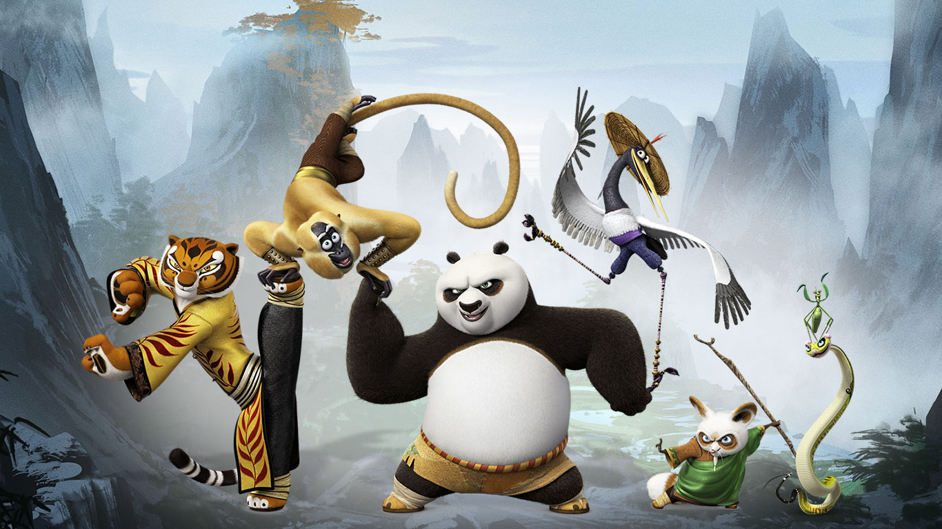 kung fu panda 3 2016 iphone & desktop wallpapers hd
