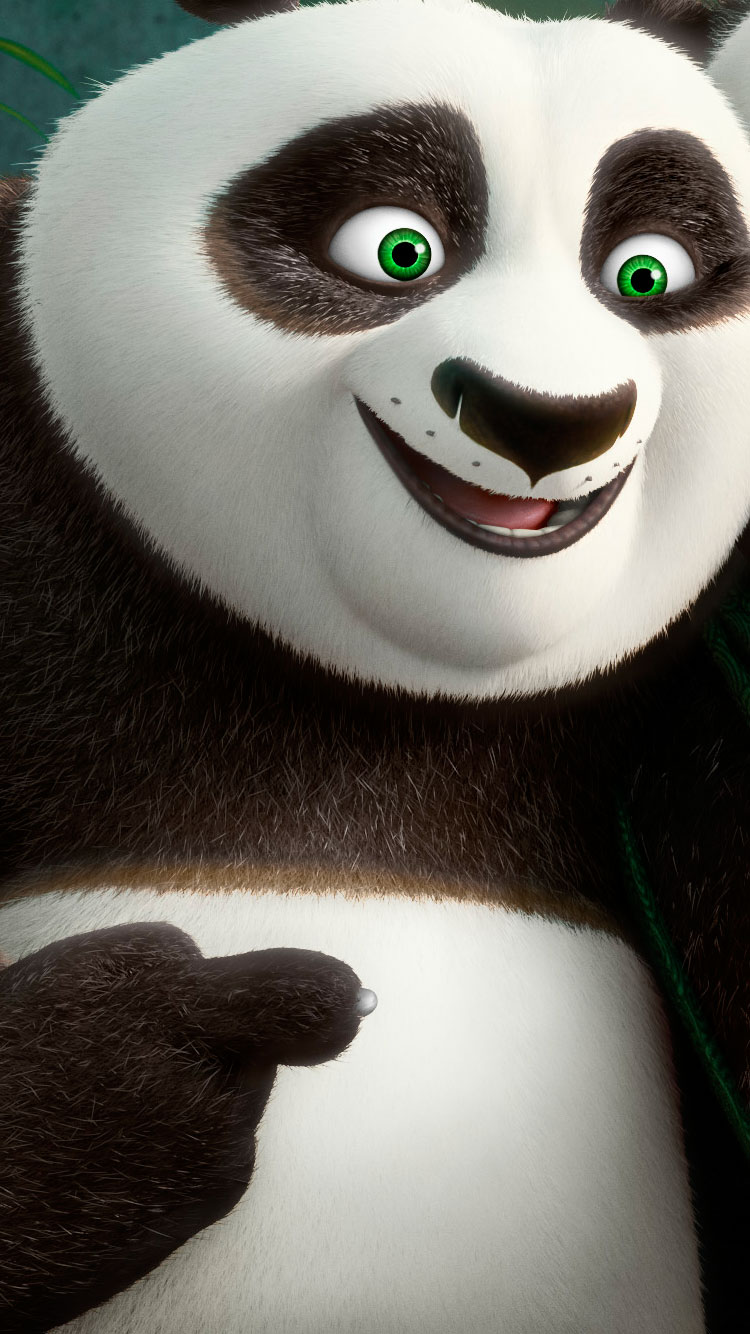 Kung fu panda iphone wallpaper -  Kung Fu Panda Po Iphone Wallpaper 2