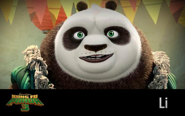 Kung-fu-Panda-Li-Wallpaper