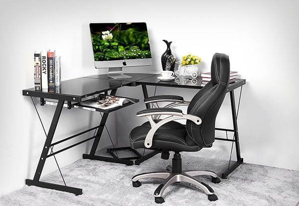 L-shaped-Mac-Corner-Desk-Table