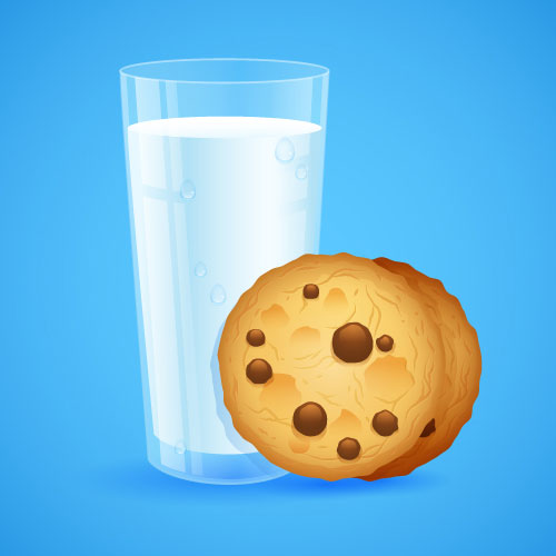Milk-&-Cookies-Illustrator-tutorial