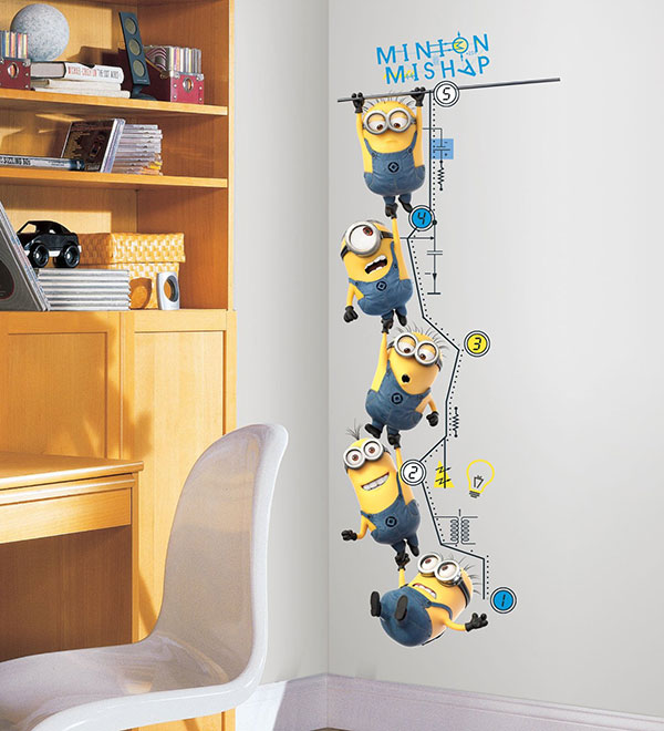 Amazing Minions Wall Decal Stickers