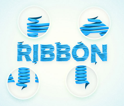 Ribbon-Text-Effect-Illustrator-Tutorial