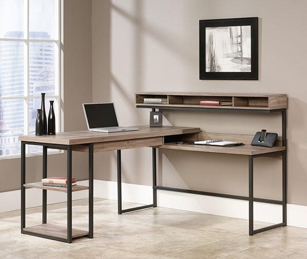 Sauder-L-Shaped-Computer-Desk-made-with-Salt-Oak