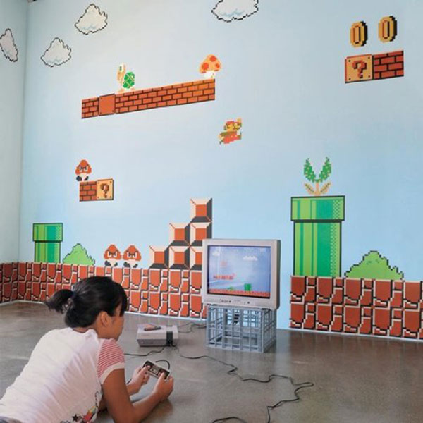 Ideal Super Mario Bros Wall Graphics
