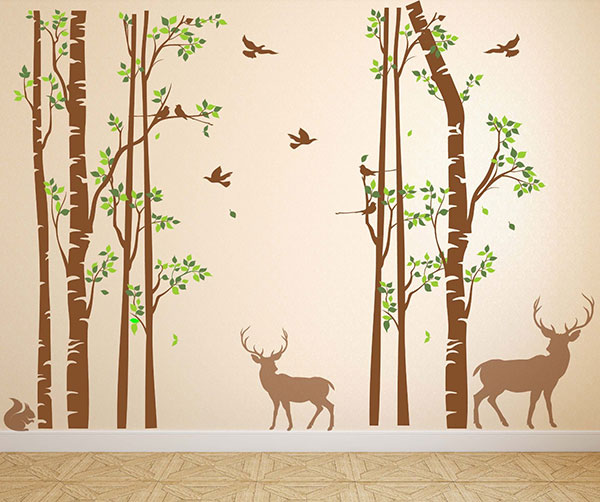 Wall-Decor-Stickers-Trees