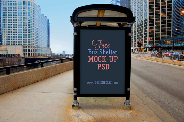 Free-Bus-Shelter-Outdoor-Advertising-Mockup-PSD-File