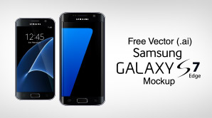 Free-Vector-Samsung-Galaxy-S7-&-S7-Edge-Mock-up-in-.Ai-Format