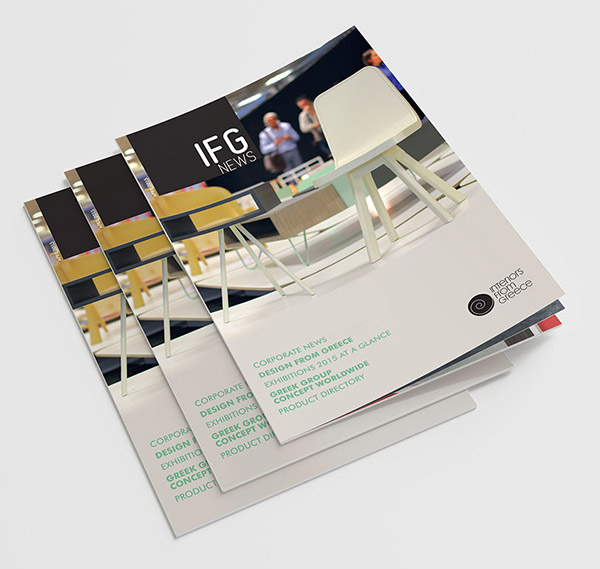 IFG-news-brochure-design