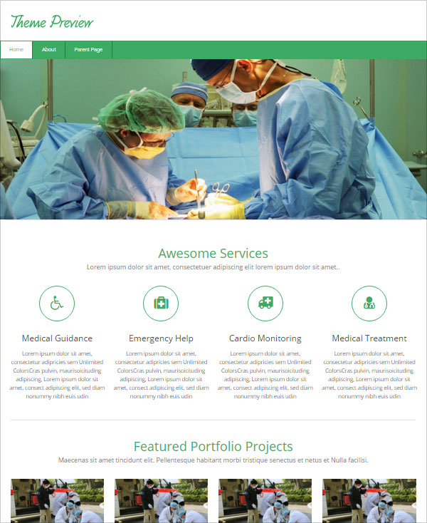 Free-Medical-Business-Wordpress-Theme
