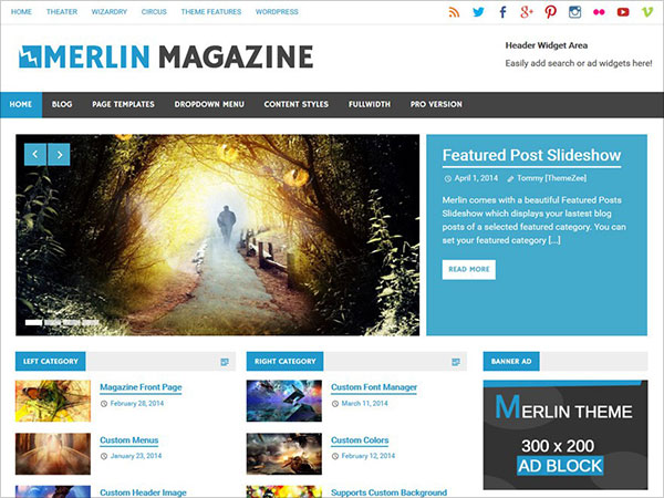 Merlin-beautiful-Magazine-WordPress-theme-responsive-layout