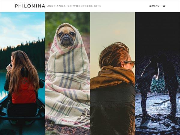 Philomina-minimalistic-Portfolio-theme-2016