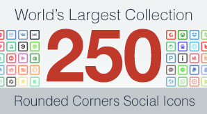 250-Rounded-Corners-Social-Media-Icons-2016-Free-&-Premium