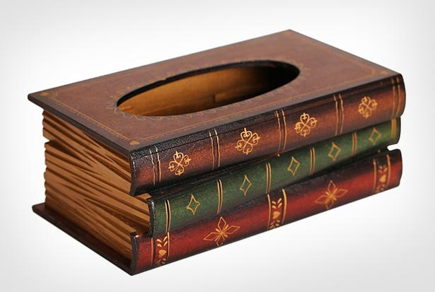 Elegant-Hand-Crafted-Wooden-Scholar's-Antique-Book-Tissue-Box