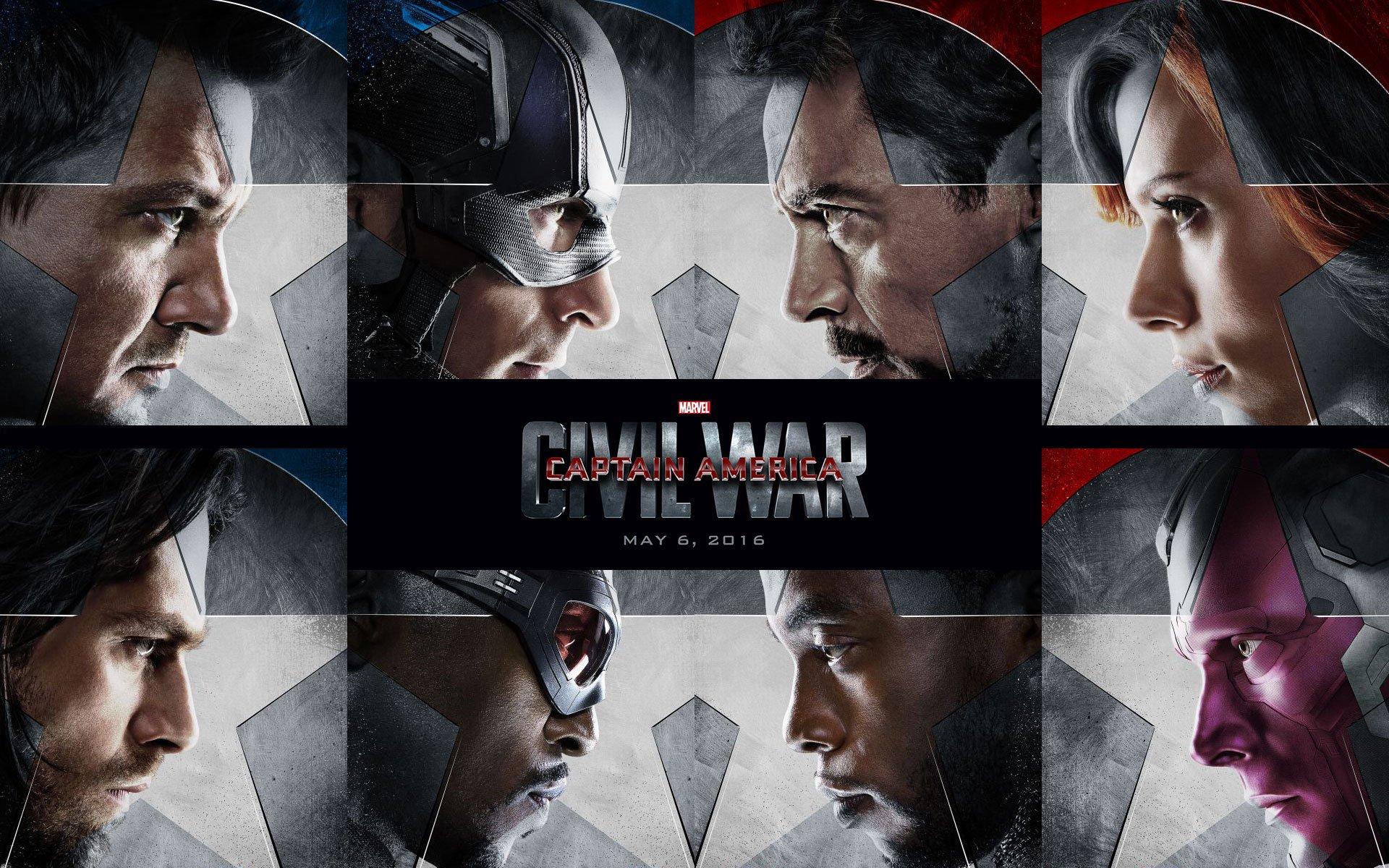 Marvel S Captain America Civil War 2016 Iphone Desktop