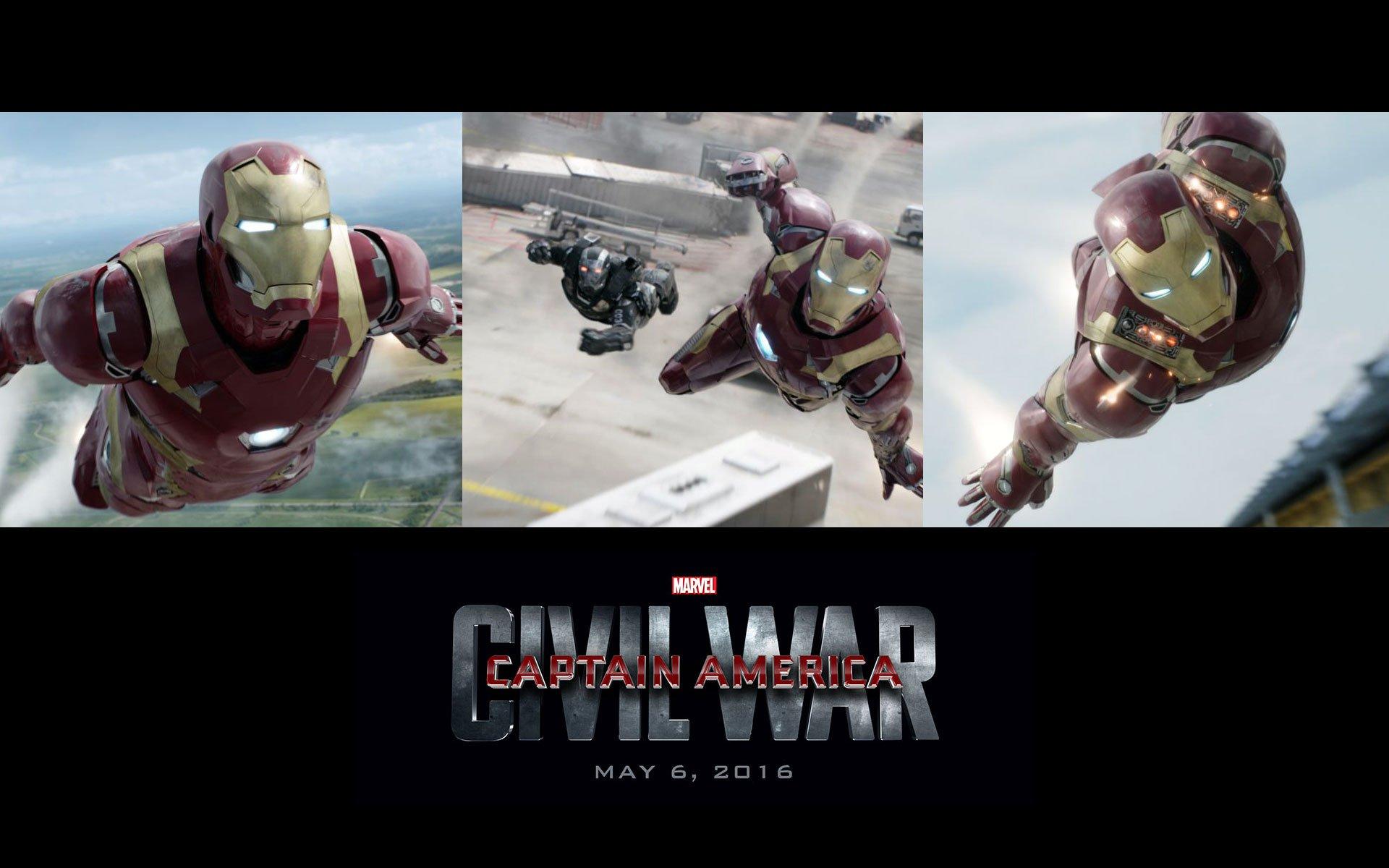 Marvel S Captain America Civil War 2016 Iphone Desktop Wallpapers Hd