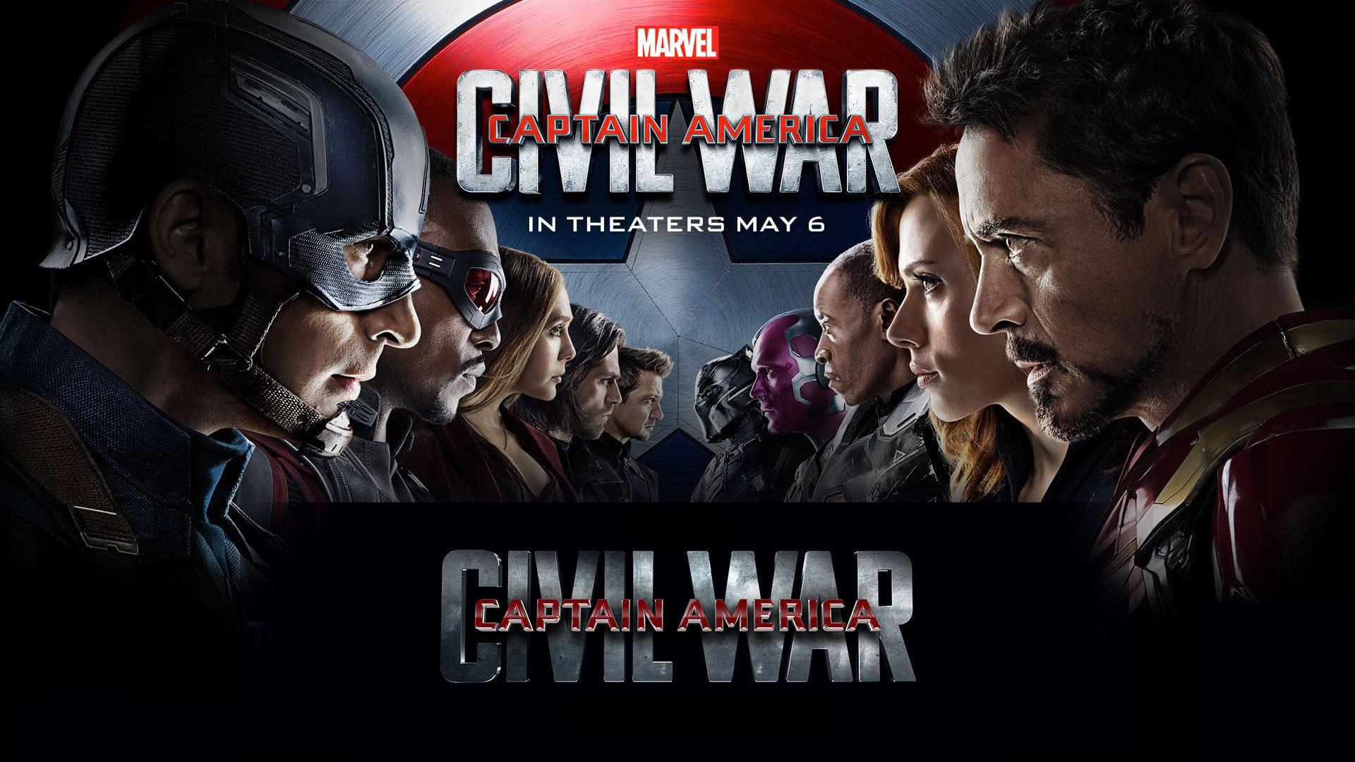 Marvels Captain America Civil War 2016 Iphone Desktop