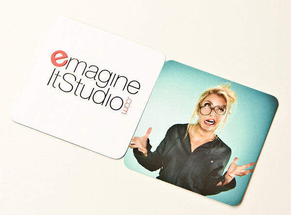 studio business card design idea