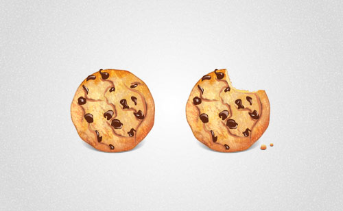 Chocolate-Chip-Cookie-Adobe-Illustrator-CS6-Tutorial
